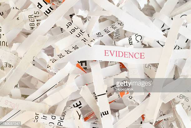 Evidence Destruction - Obstruction of Justice