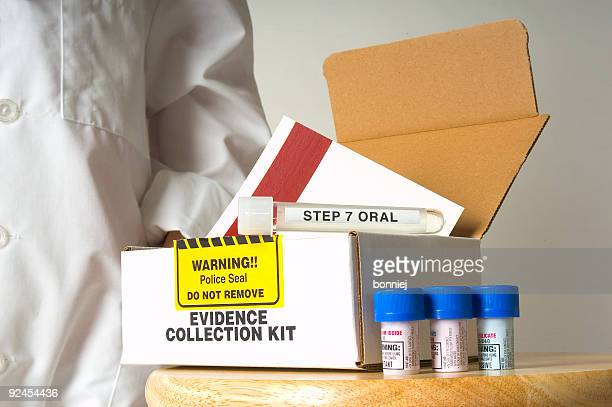 evidence kit - sexual violence stock pictures, royalty-free photos & images
