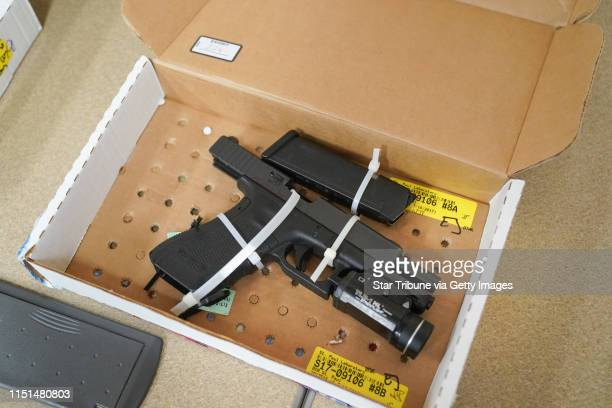 Evidence presented in the trial of former Minneapolis police officer Mohamed Noor was made available for public viewing Friday Here is his gun used...