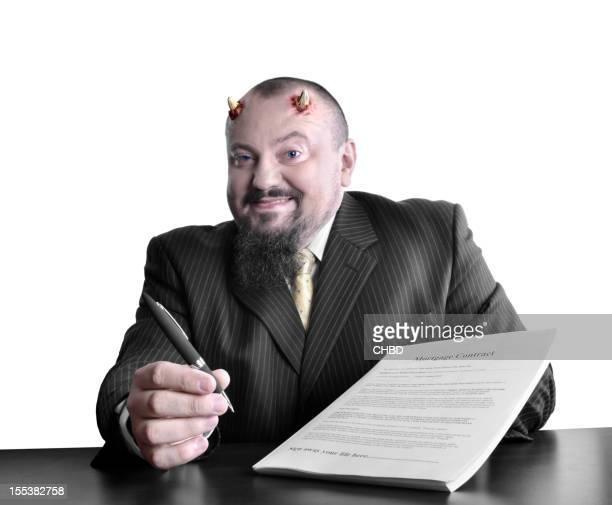 Evil banker