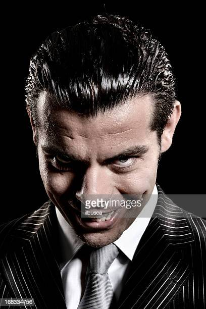 evil businessman look - bossy stock pictures, royalty-free photos & images