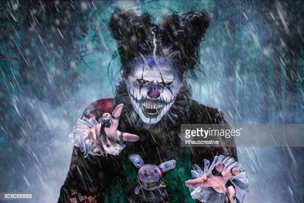 Evil Clown in Your Nightmare
