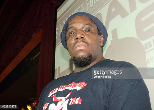 DJ Evil Dee during 8th Annual Black August Benefit Concert at BB Kings in New York City New York United States