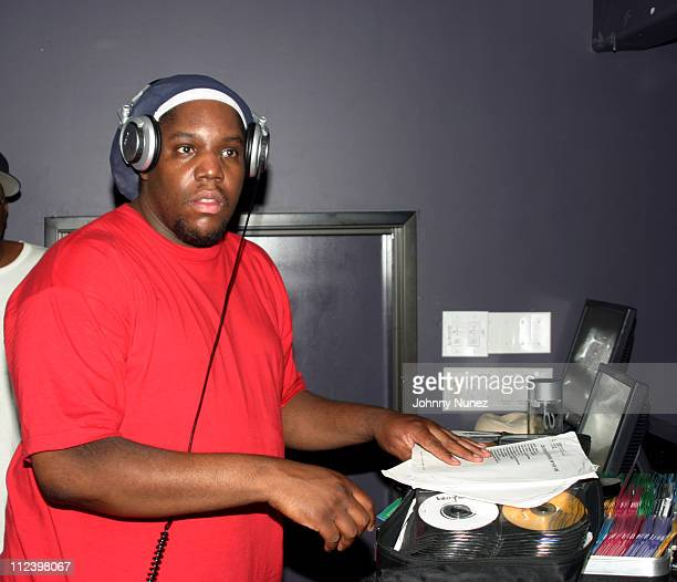 DJ Evil Dee during DNice's Birthday Party June 15 2005 at Bed in New York New York United States