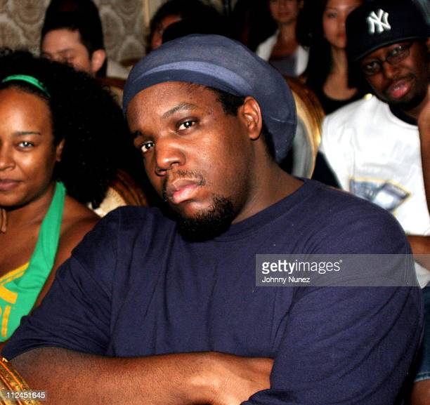 DJ Evil Dee during Little Brother's The Minstrel Show Listening Party August 3 2005 at Studio Dante in New York City New York United States