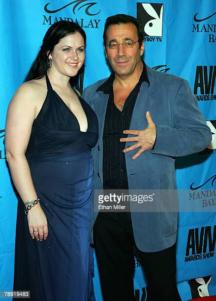 Evil Empire director and executive Karen Stagliano and her husband adult film producer and director John Stagliano arrive at the 25th annual Adult...