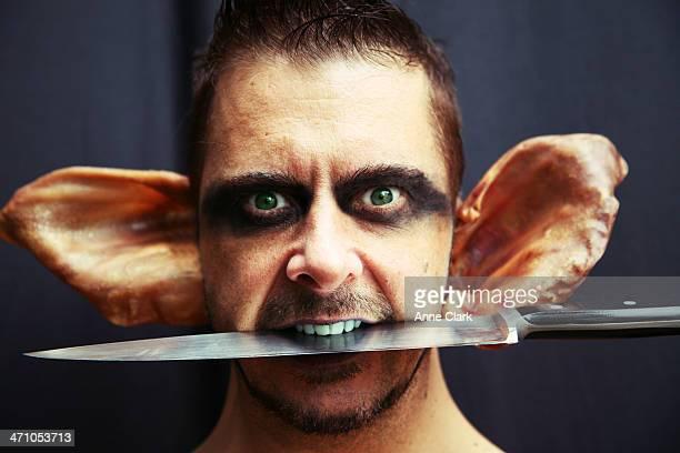evil goblin - goblin stock photos and pictures