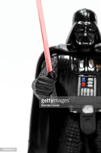 mal lightsaber - dark vador photos et images de collection
