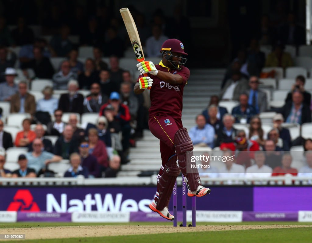 England v West Indies - 4th Royal London One Day International : News Photo