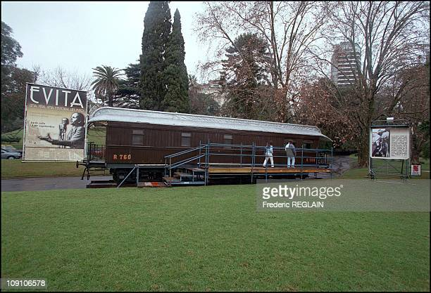 Evita Peron Museum Opens On Fiftieth Anniversary Of Her Death On January 7Th Argentina The Railway Car In Which Evita Peron Used To Travel