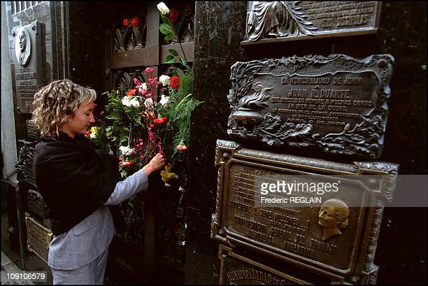Evita Peron Museum Opens On Fiftieth Anniversary Of Her Death On January 7Th Argentina The Duarte Family Vault Where Evita Peron Rests