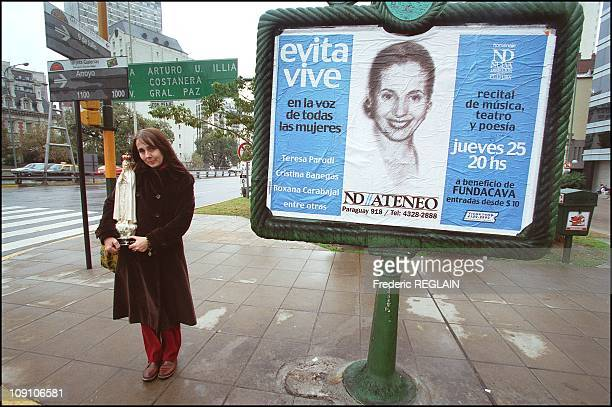 Evita Peron Museum Opens On Fiftieth Anniversary Of Her Death On January 7Th Argentina In Buenos Aires Streets