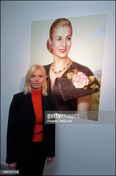 Evita Peron Museum Opens On Fiftieth Anniversary Of Her Death On January 7Th Argentina Cristina Alvarez Rodriguez Grandniece Of Evita Peron At The...