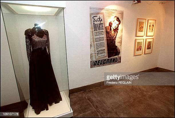 Evita Peron Museum Opens On Fiftieth Anniversary Of Her Death On January 7Th Argentina Dress Once Worn By Evita Peron In Her Acting Days