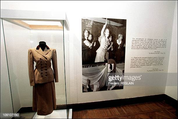 Evita Peron Museum Opens On Fiftieth Anniversary Of Her Death On January 7Th Argentina Dress Once Worn By Evita Peron