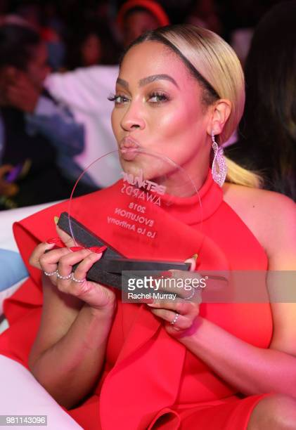 Evolution Award recipient Lala Anthony attends the BET Her Awards presented by Bumble at Conga Room on June 21 2018 in Los Angeles California
