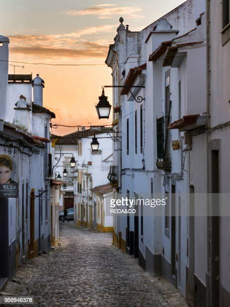 Evora in the Alentejo The old town is part of the UNESCO World Heritage Europe Southern Europe Portugal March