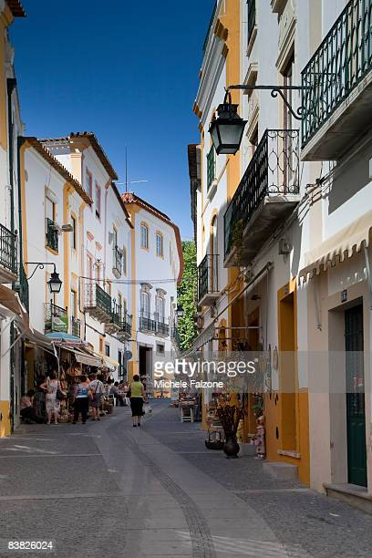 Evora Old Town, narrow street