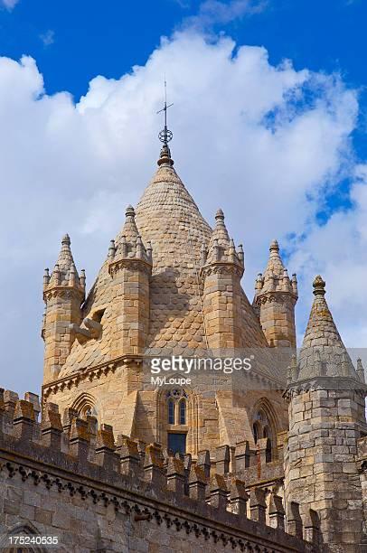 Evora, Se Cathedral, UNESCO World Heritage Site, Alentejo, Portugal, Europe
