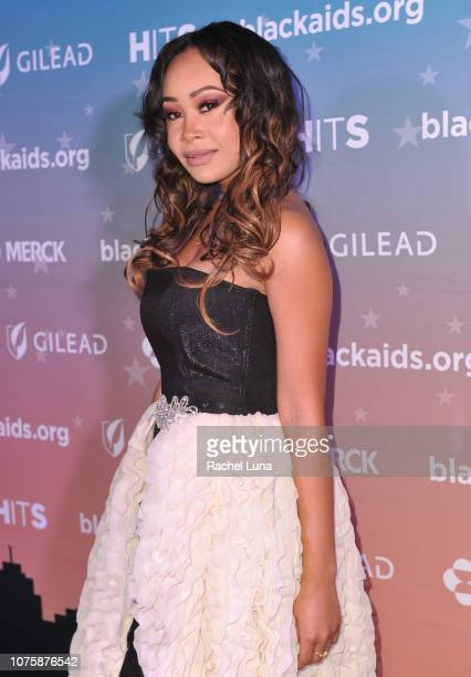 Evvie attends the Black AIDS Institute's 2018 Heroes in The Struggle Gala at California African American Museum on December 01 2018 in Los Angeles...