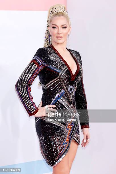 Evvie McKinney photographed on the red carpet of the 2018 American Music Awards at the Microsoft Theater on October 9 2018 in Los Angeles California