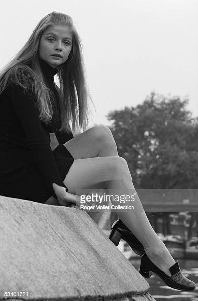 Ewa Aulin Swedish actress Paris about 1965