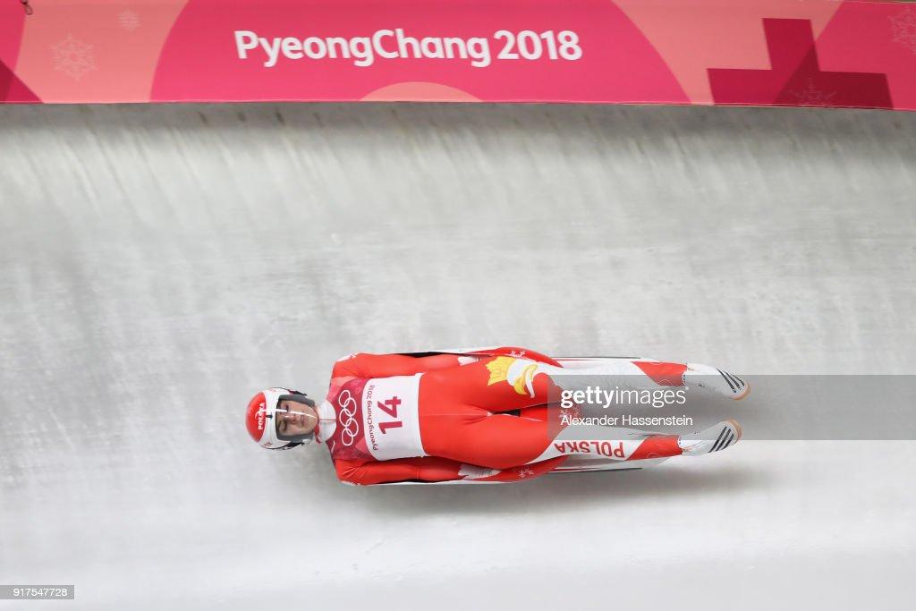 Luge - Winter Olympics Day 3 : News Photo