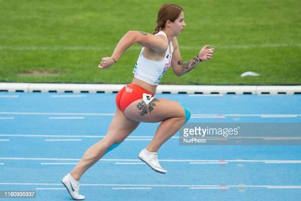 Ewa Swoboda during the European Athletics Team Championships Super League Bydgoszcz 2019 Day Two at Zawisza Stadium on August 10 2019 in Bydgoszcz...