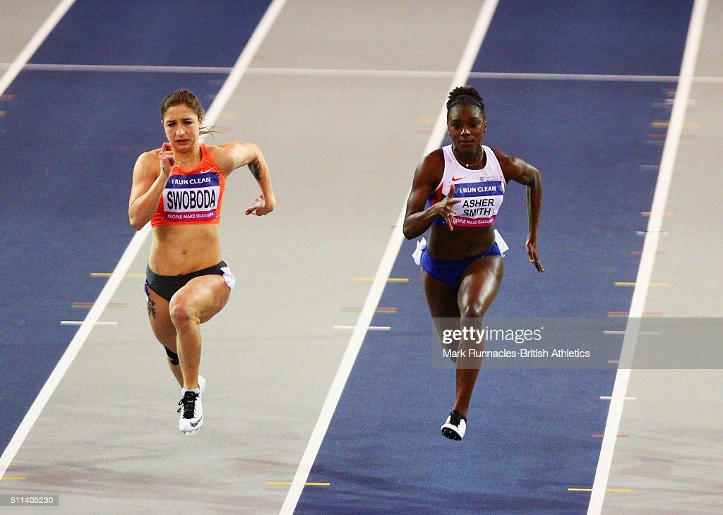 Glasgow Indoor Grand Prix : News Photo