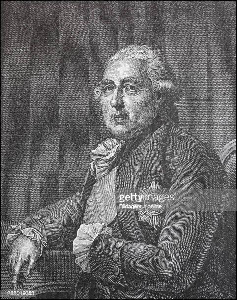 Ewald Friedrich von Hertzberg, also Herzberg, 2 September 1725 - 27 May 1795, since 1786 Count von Hertzberg, was a Prussian statesman / Ewald...
