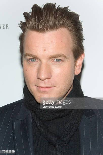 Ewan MacGregor at the 'Miss Potter' New York Premiere Inside Arrivals at DGA Theater in New York City New York