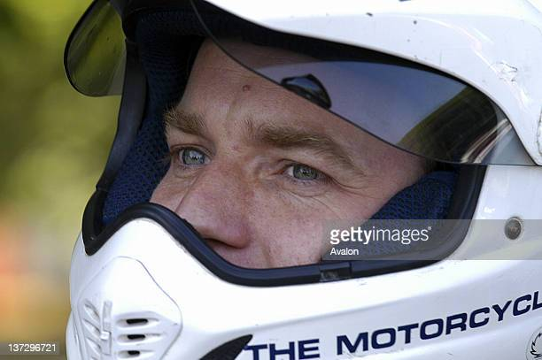 Ewan MacGregor photographed at the Goodwood Festival of Speed West Sussex UK 26th June 2005