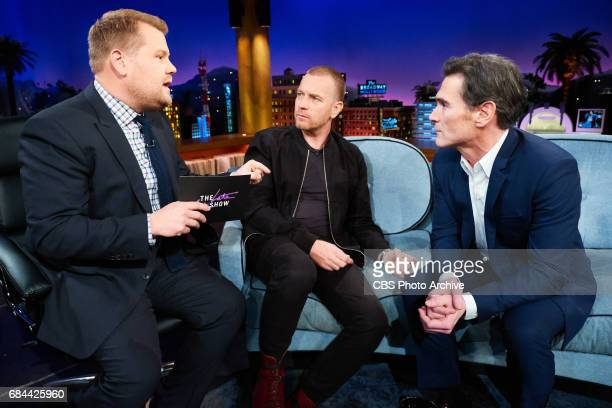 Ewan McGregor and Billy Crudup chat with James Corden during The Late Late Show with James Corden Wednesday May 17 2017 On The CBS Television Network