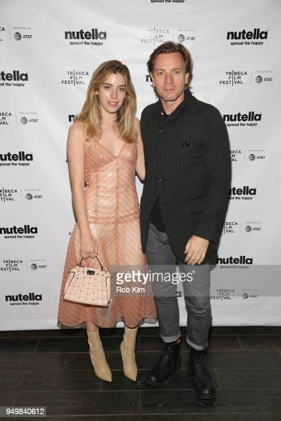 Ewan McGregor and Clara McGregor attend the afterparty for ZOE during the 2018 Tribeca Film Festival at The Ainsworth on April 22 2018 in New York...