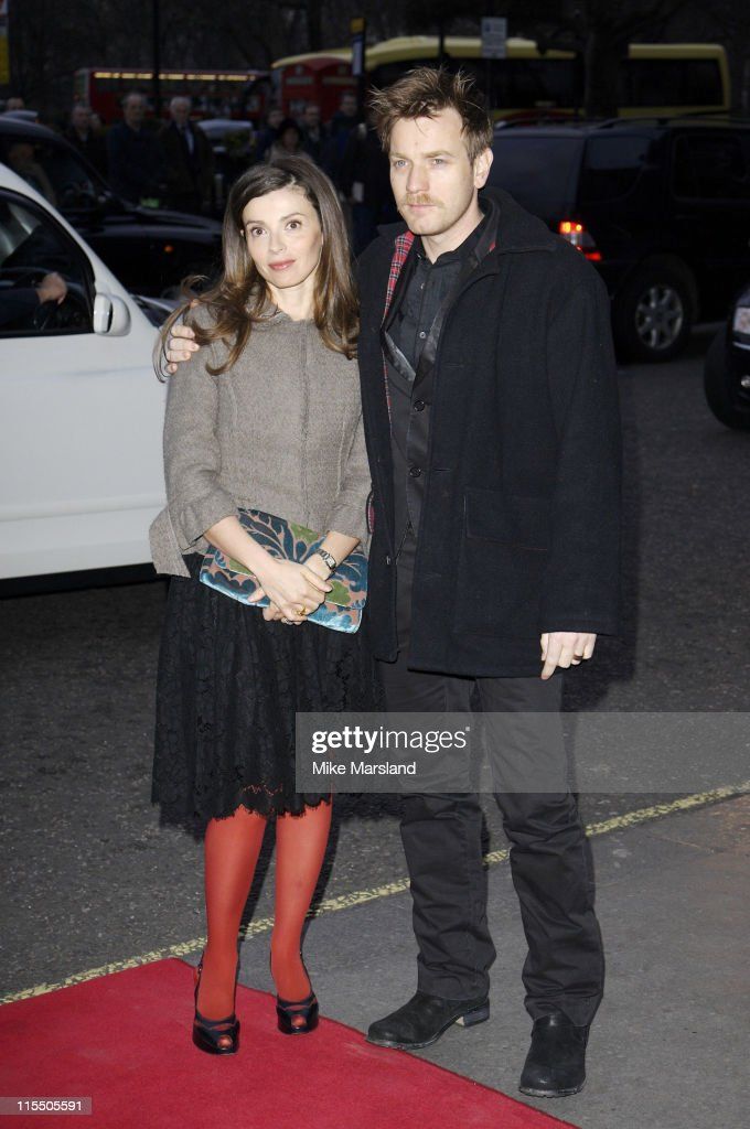 Ewan McGregor and his wife Eve during 2006 Laurence Olivier Awards - Outside Arrivals at London Hilton in London, Great Britain.