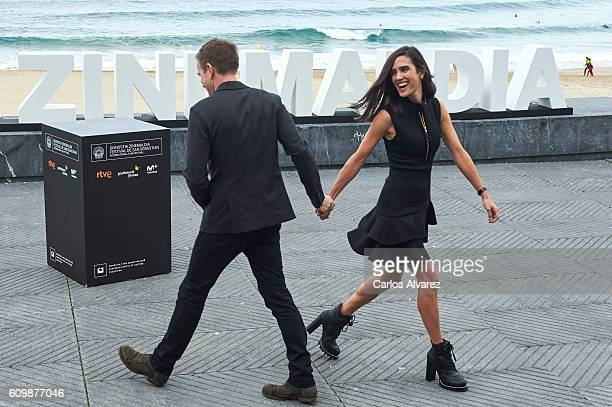 Ewan McGregor and Jennifer Connelly attend 'American Pastoral' photocall during the 64th San Sebastian International Film Festival at Kursaal Palace...