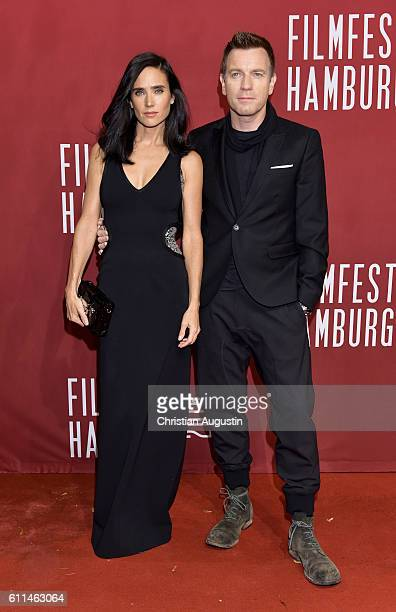 Ewan McGregor and Jennifer Connelly attend the premiere of 'Amerikanisches Idyll' during the opening night of Hamburg Film Festival 2016 at Cinemaxx...