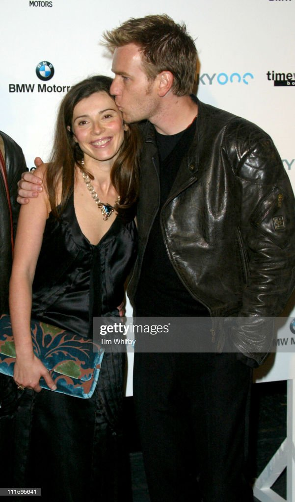 Ewan McGregor and wife Eve McGregor during 'The Long Way Round' Party, Which Raised 200,00 For Charity - Arrivals in London, Great Britain.