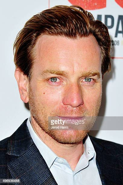 Ewan McGregor arrives at the 8th Annual GO Campaign Gala at Montage Beverly Hills on November 12 2015 in Beverly Hills California