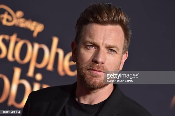 Ewan McGregor arrives at the premiere of Disney's 'Christopher Robin' at Walt Disney Studios on July 30 2018 in Burbank California