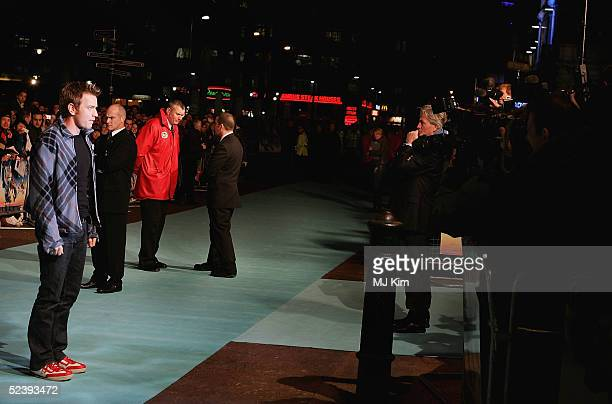Ewan McGregor arrives at the UK Premiere of the animated film 'Robots' at Vue Leicester Square on March 14 2005 in London