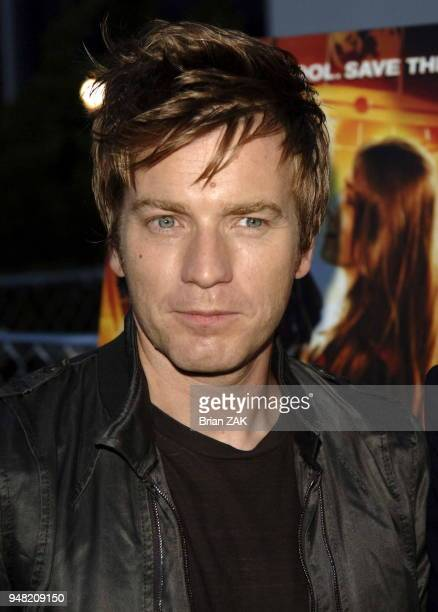 Ewan McGregor arrives to the New York Premiere of Alex Rider Operation Stormbreaker held at The Intrepid Sea Air Space Museum New York City BRIAN ZAK