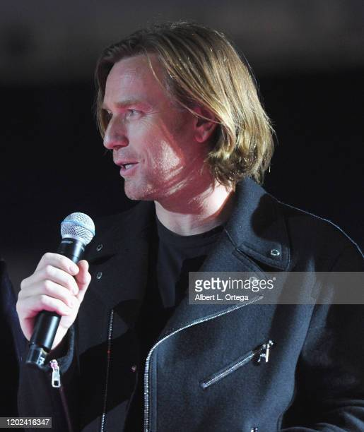 Ewan McGregor attends A Night of Music and Mayhem in Harleywood hosted by the cast of Bird Of Prey held at Hollywood and Highland on January 23 2020...