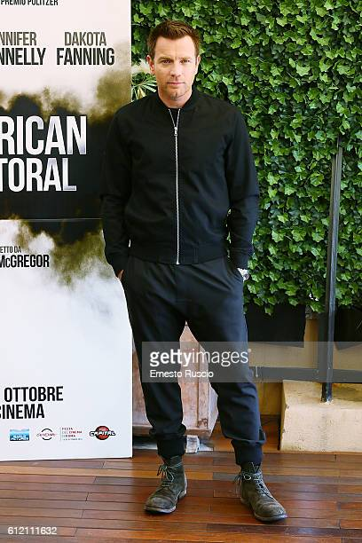 Ewan McGregor attends a photcall for 'American Pastoral' at Bernini Hotel on October 3 2016 in Rome Italy