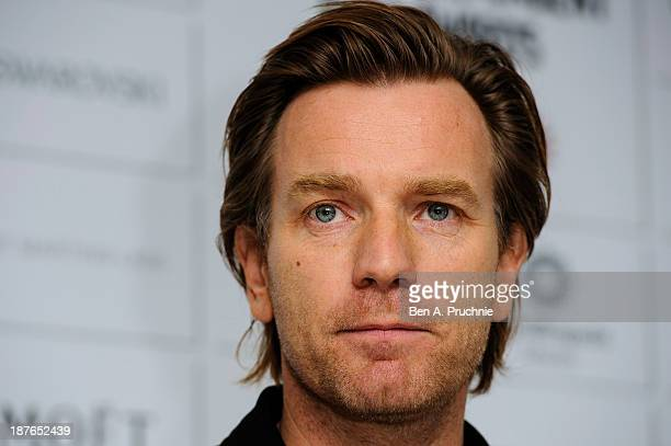 Ewan McGregor attends as the nominations for the British Independent Film Awards are announced at St Martin's Lane Hotel on November 11 2013 in...