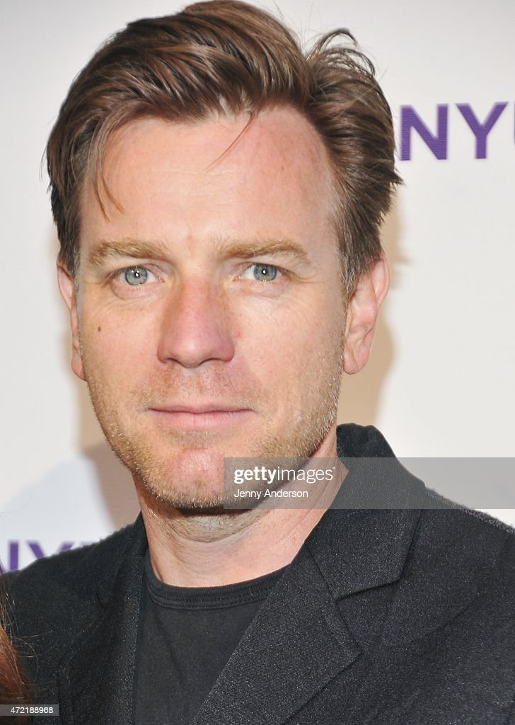 Ewan McGregor attends NYU Tisch School of The Arts 2015 Gala at Frederick P. Rose Hall, Jazz at Lincoln Center on May 4, 2015 in New York City.
