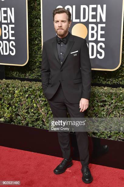 Ewan McGregor attends the 75th Annual Golden Globe Awards Arrivals at The Beverly Hilton Hotel on January 7 2018 in Beverly Hills California