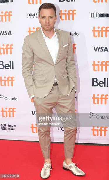 Ewan McGregor attends the 'American Pastoral' during the 2016 Toronto International Film Festival premiere at Princess of Wales Theatre on September...