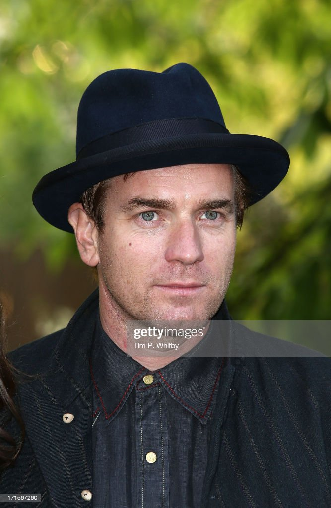 Ewan McGregor attends the annual Serpentine Gallery summer party at The Serpentine Gallery on June 26, 2013 in London, England.