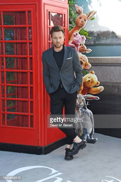 Ewan McGregor attends the European Premiere of Christopher Robin at the BFI Southbank on August 5 2018 in London England